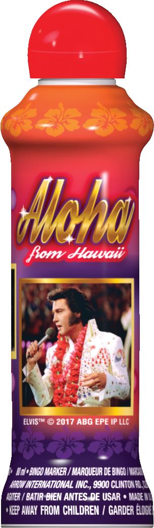 Aloha Elvis Bingo Ink